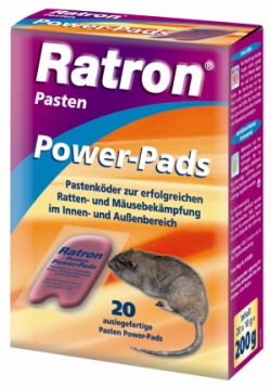 Ratron Pasten Power-Pads 200 gr.