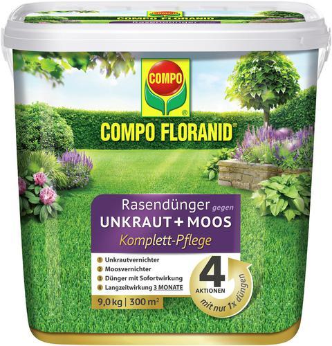 compo floranid rasend nger gegen moos und unkraut 4 in 1 d nger shop. Black Bedroom Furniture Sets. Home Design Ideas