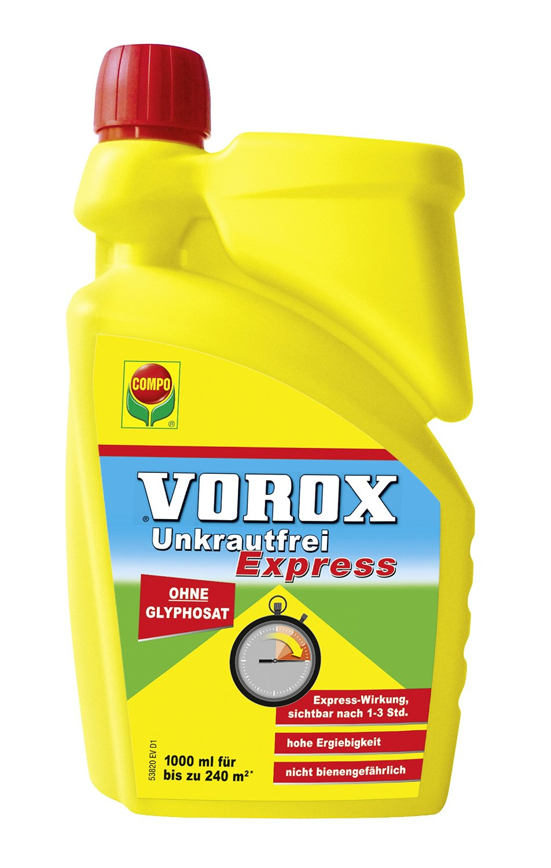vorox express unkrautfrei 1 liter konz d nger shop. Black Bedroom Furniture Sets. Home Design Ideas
